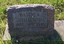 Hattie K Gilliland