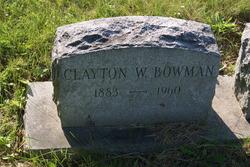 Clayton W Bowman