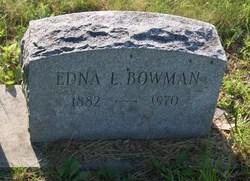 Edna L Bowman
