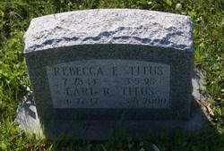 Rebecca Eastburn <I>Smith</I> Titus