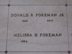 Donald R Foreman