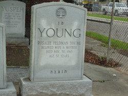 Rosalie <I>Feldman</I> Young