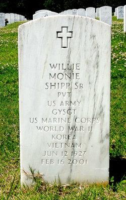 Willie Monie Shipp, Sr
