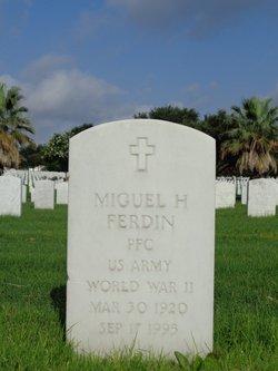 Miguel H Ferdin