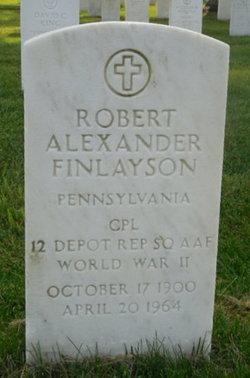 Robert Alexander Finlayson