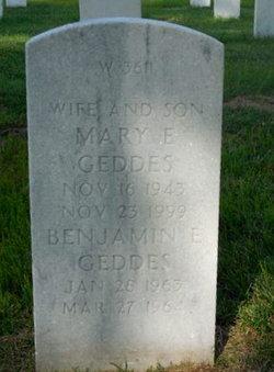 Benjamin E Geddes, Jr