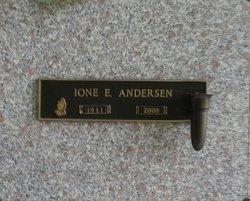Ione Enola <I>Hunerjager</I> Andersen