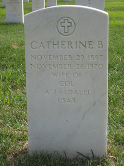 Catherine B Fedalei