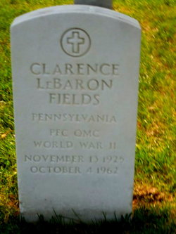 Clarence Le Baron Fields