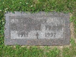 Gertrude M <I>Muller</I> Frost