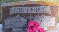 Edith Greening