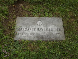 Margaret <I>Hayes</I> Binder