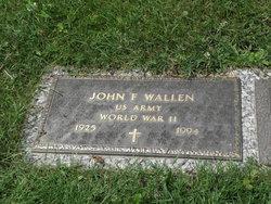 John F Wallen