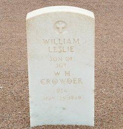 William Leslie Crowder