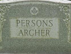 Althea E. <I>Persons</I> Archer