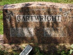 Maurine Elizabeth <I>Hargrove</I> Cartwright