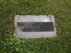 Emma A. <I>Lantzy</I> Parks