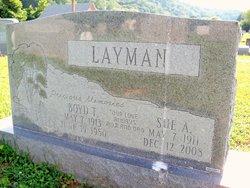 """Sue """"Addie"""" <I>Thomas</I> Layman"""
