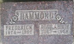 Rose Annie <I>Goodsell</I> Hammond