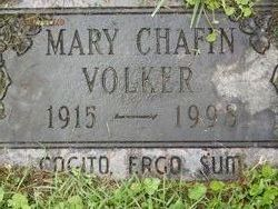 Mary Frances <I>Chafin</I> Volker