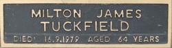 Milton James Tuckfield