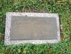 Timothy Ferguson, III