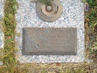 William A Gill, Ii