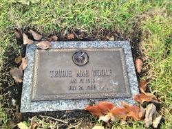 Trudie Mae Woolf