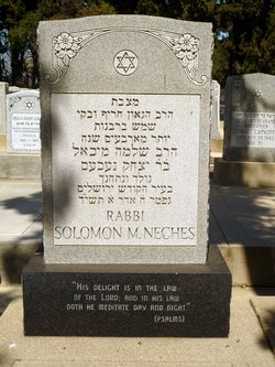 Rabbi Solomon Michael Neches