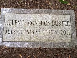 Helen Lorenda <I>Congdon</I> Durfee