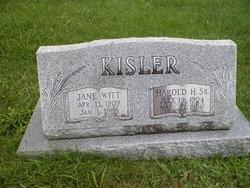 Harold H Kisler, Sr