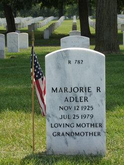 Marjorie R Adler