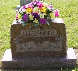 "Pearl Rosalie ""Pearly"" <I>Barnfield</I> Alexander"