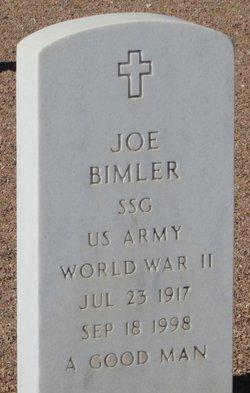 Joe E Bimler