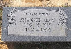 Lyska <I>Green</I> Adams