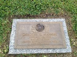Dorothy E. Manning