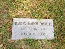 Frances Bambom Costello