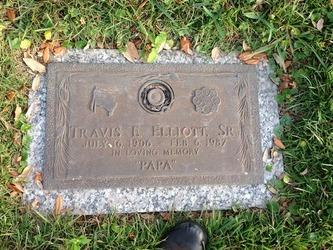 """Travis E """"Papa"""" Elliott, Sr."""