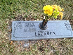 """Rudolph Valentine """"Rick"""" Lazarus"""