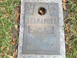 Luz M Hernandez