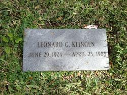 Leonard G Klingen