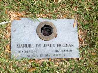 Manuel De Jesus Freeman