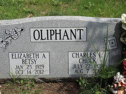 "Elizabeth A. ""Betsy"" <I>Ross</I> Oliphant"