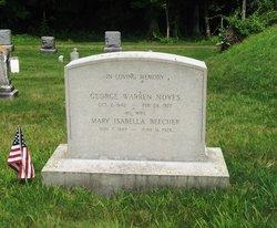 Mary Isabella <I>Beecher</I> Noyes