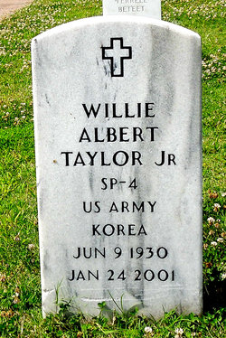 Willie Albert Taylor, Jr