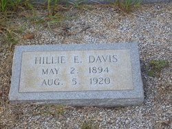Hillie <I>Edenfield</I> Davis