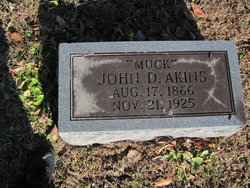 """John D """"Muck"""" Akins"""