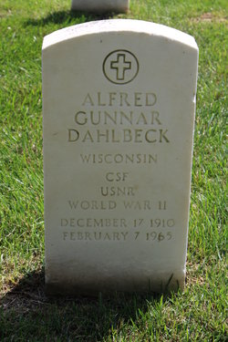 Alfred Gunnar Dahlbeck