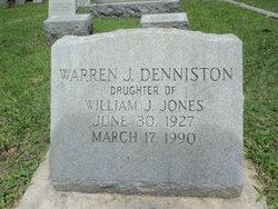 Warren <I>Jones</I> Denniston
