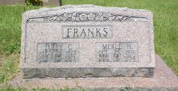 Merle <I>Houston</I> Franks